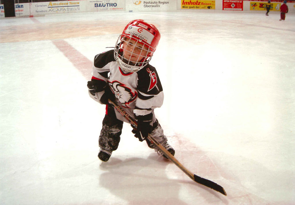 First experiences in hockey Personal 0618919f6