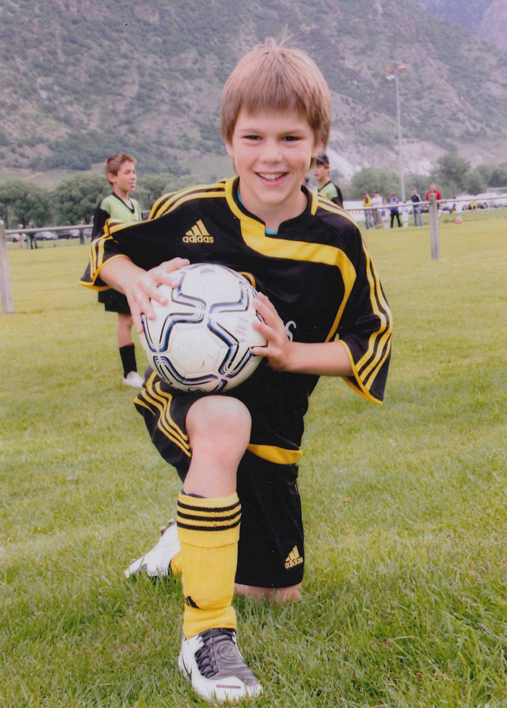 17ed616aa Nico as a young soccer prospect_Personal